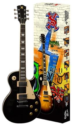 Električna gitara SX set EG2K/BK LP