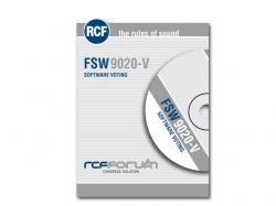 RCF-FSW 9020-V SOFTWARE FOR VOTING MANAGEMENT
