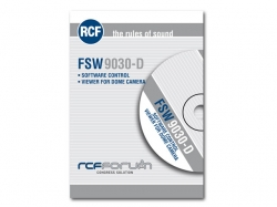 RCF-FSW 9030-D SOFTWARE FOR DOME CAMERA