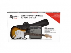 Squier By Fender Stratocaster® PAKET 1