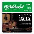Žice za akustičnu gitaru D'Addario EZ890
