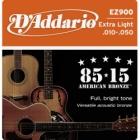 Žice za akustičnu gitaru D'Addario EZ900