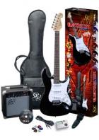Električna gitara SX set EG1K/BK Strat deal