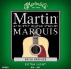 Žice za akustičnu gitaru Martin M-1000