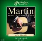 Žice za akustičnu gitaru Martin M-170