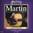 Žice za akustičnu gitaru Martin M-175