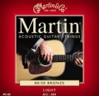 Žice za akustičnu gitaru Martin M-140