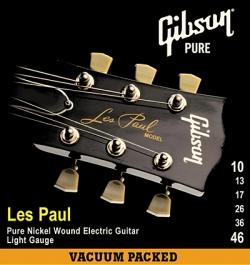 Žice za električnu gitaru Gibson SEG-LP10