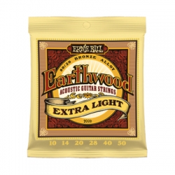 Žice za akustičnu gitaru Ernie Ball Eartwood 10 Extra Light