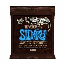 Žice za akustičnu gitaru Ernie Ball Extra Slinky