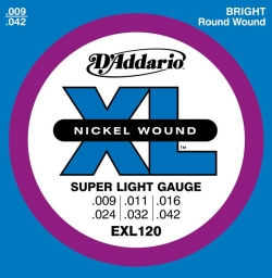 Žice za električnu gitaru D'Addario EXL 120